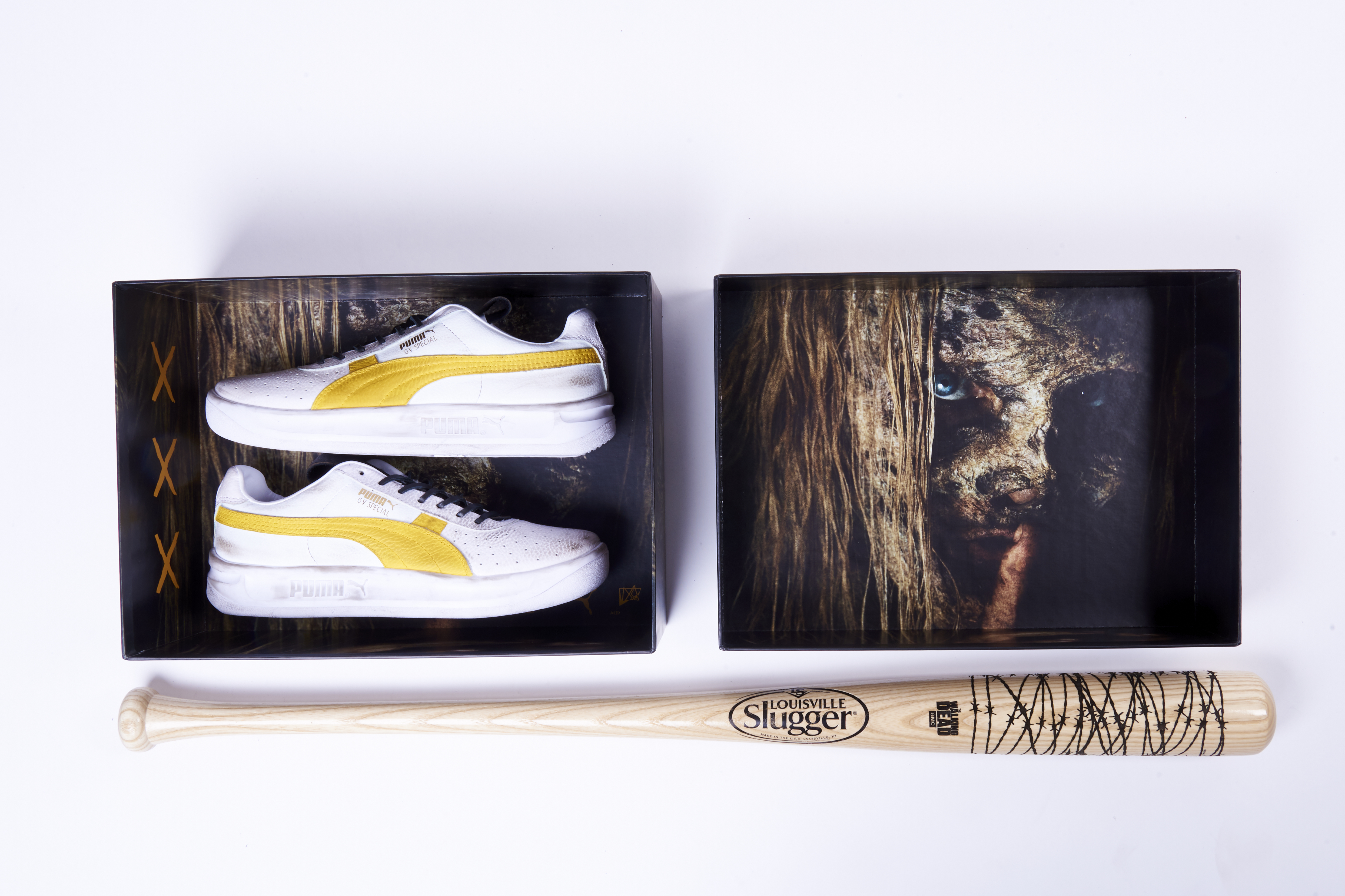 promo code 63d81 ab310 POP by Foot Locker Presents 'The Walking Dead' x PUMA GV Special