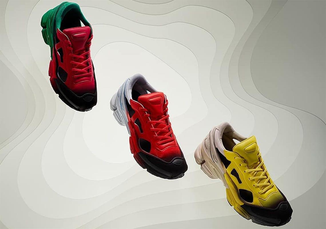 raf simons adidas replicant ozweego spring
