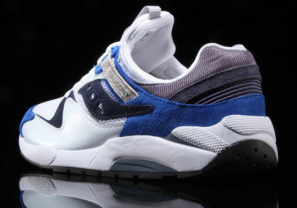 Saucony Gives the Grid 9000 a Clean Royal Blue Treatment