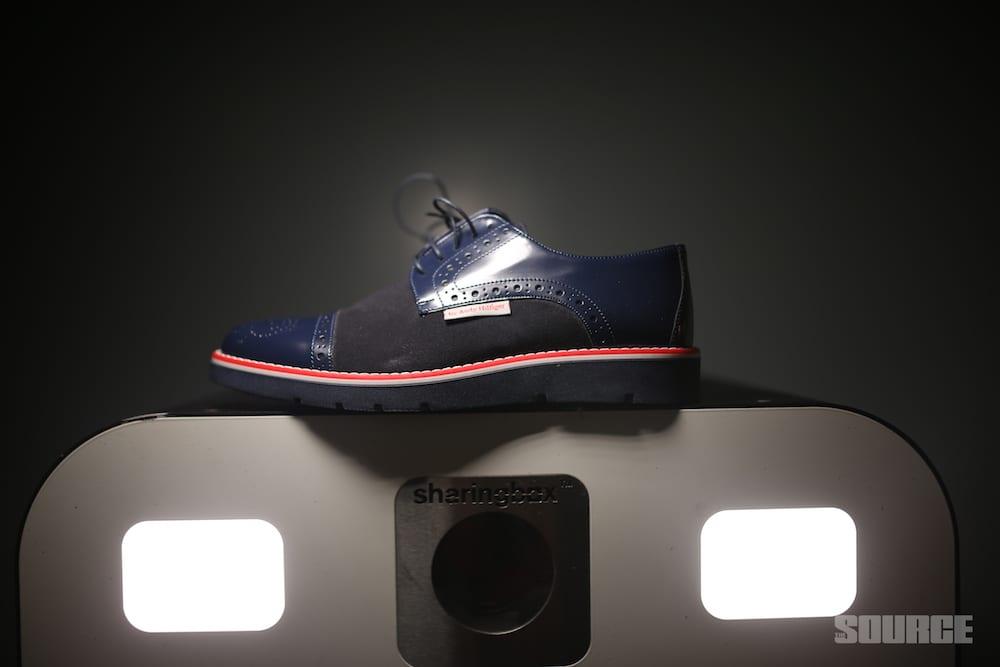 2b768fd4f23 Andrew Charles New York Men s Brogue Oxford Shoe 914 Abrasivato Camoscio  Bleu –  271.53 USD