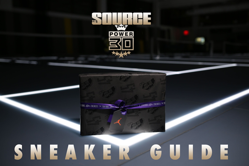 the source magazine power issue sneaker guide