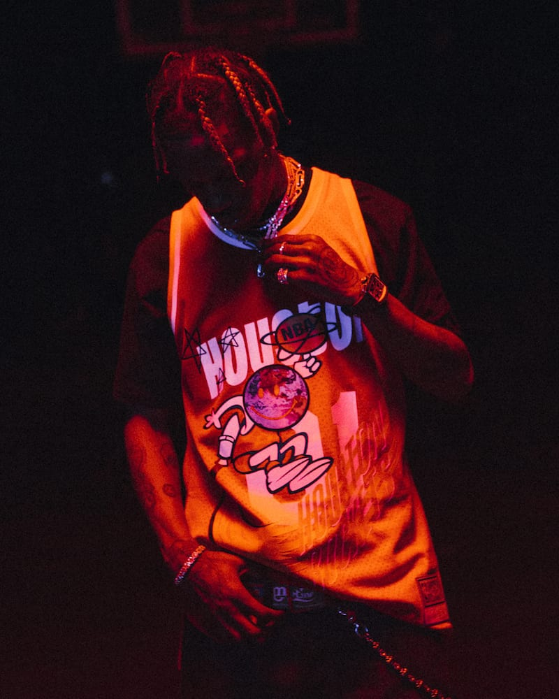 travis scott mitchell ness astroworld houston rockets jersey