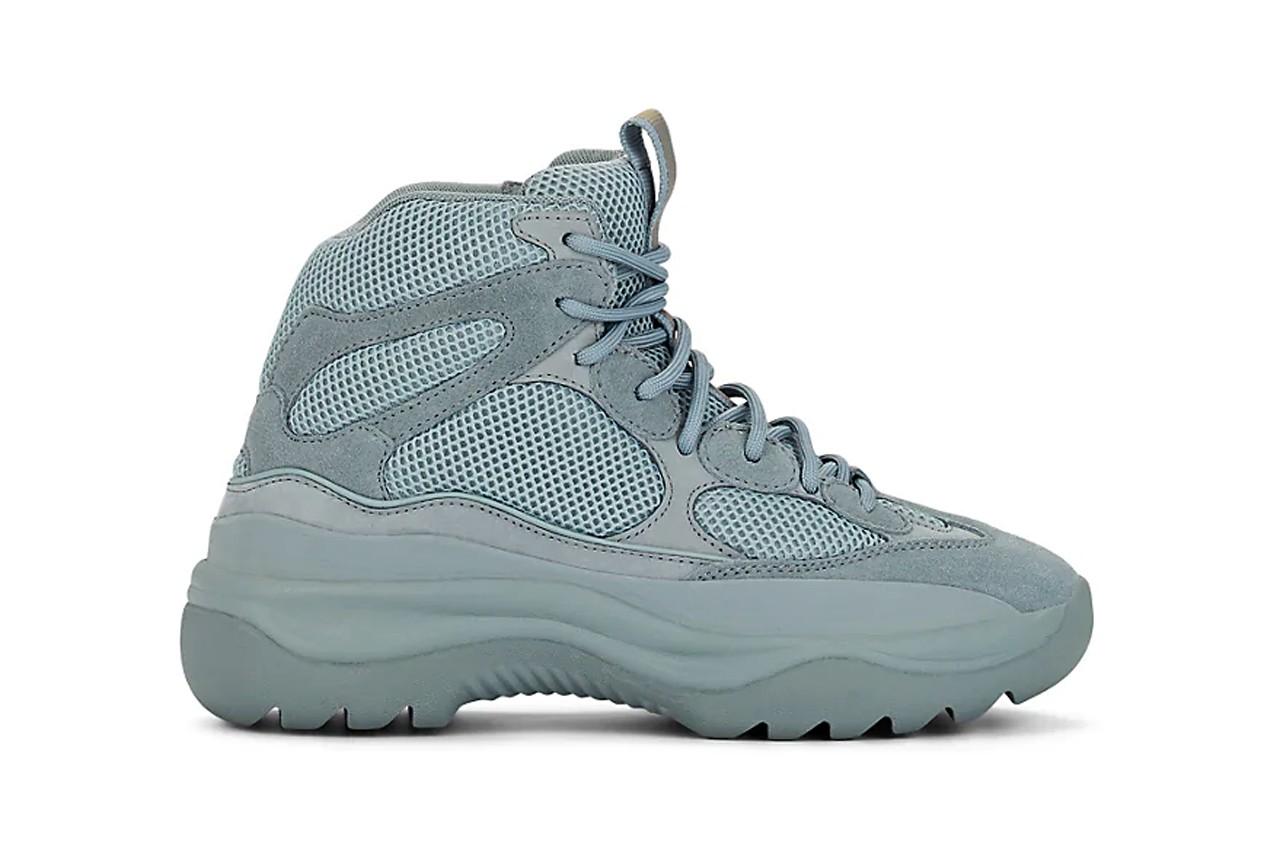yeezy season  desert boot house blue