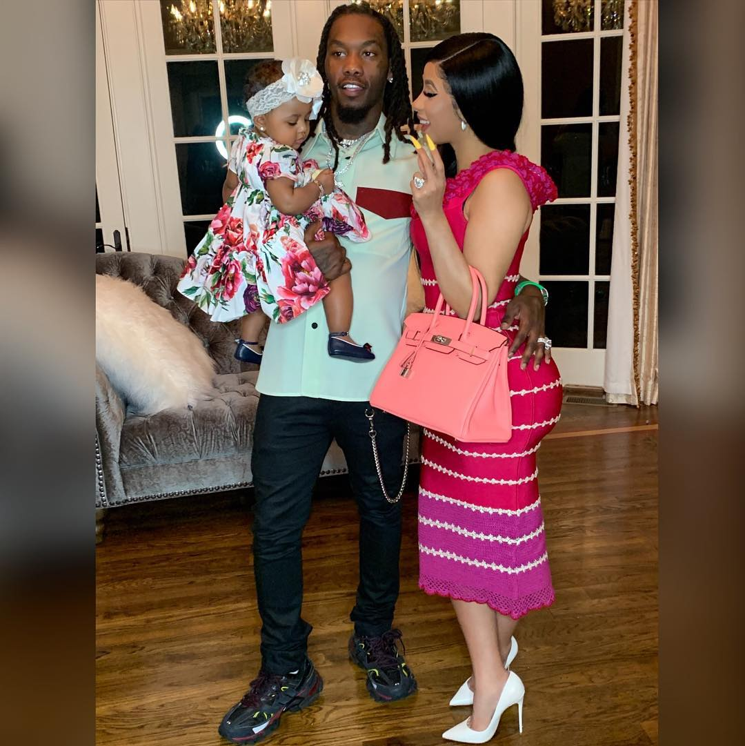 Cardi B Celebrates Easter With Her Family On Instagram