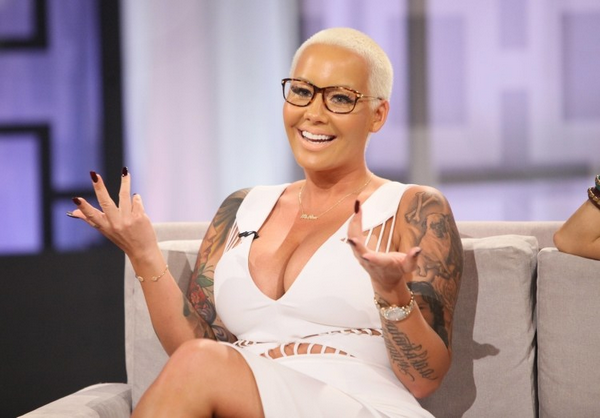 Amber Rose Announces She's Expecting a Baby Boy with Alexander Edwards