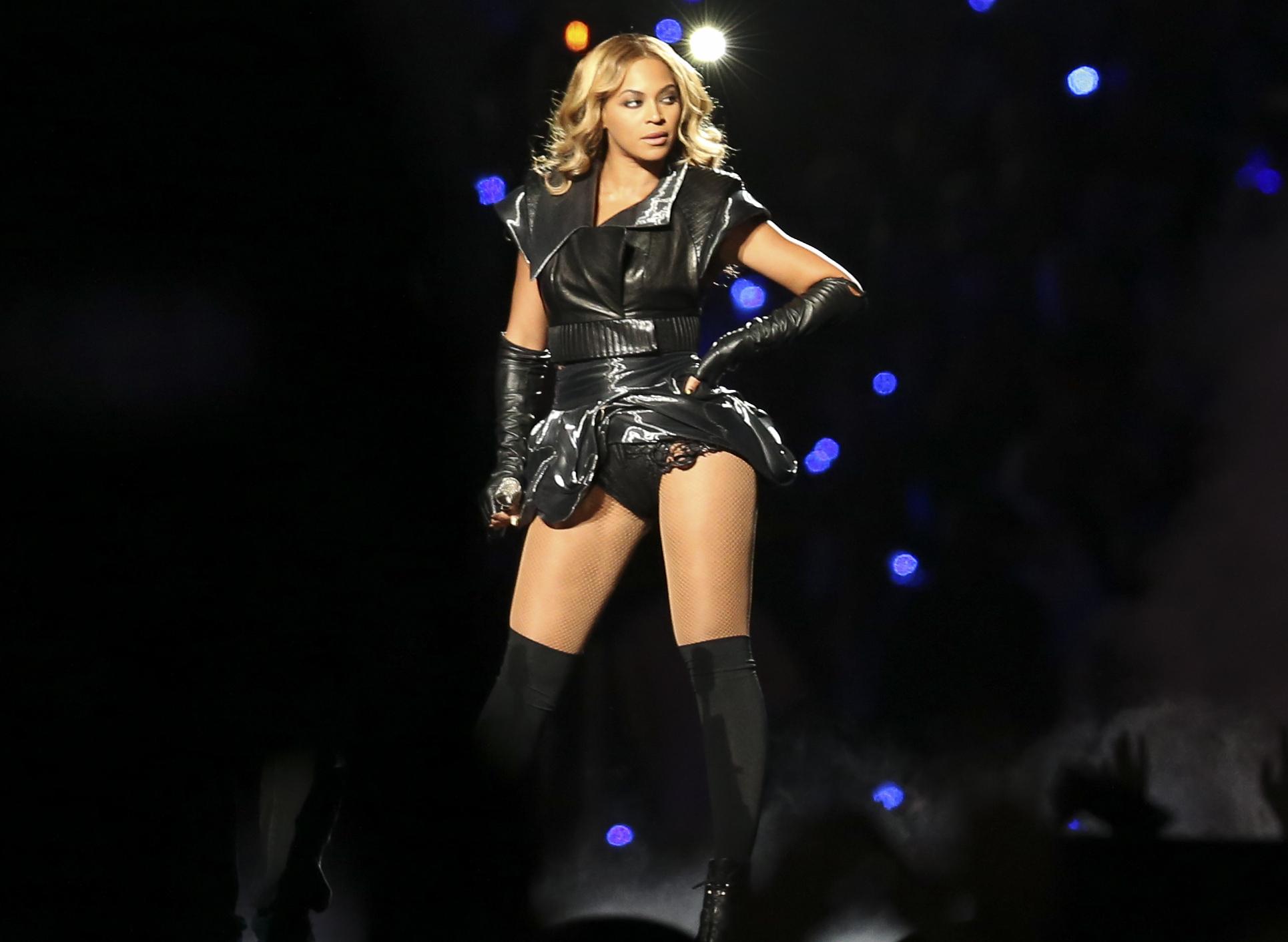 Beyoncé at Super Bowl XLVII halftime show