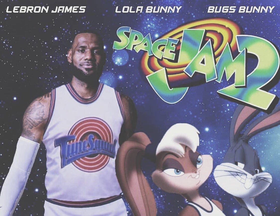 df38d1e78f2330 SOURCE SPORTS  LeBron James to Have Personal Basketball Court on  Space Jam  2  Set