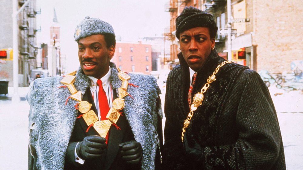 Eddie Murphy, Arsenio Hall Photographed Getting Fitted for 'Coming to America' Sequel