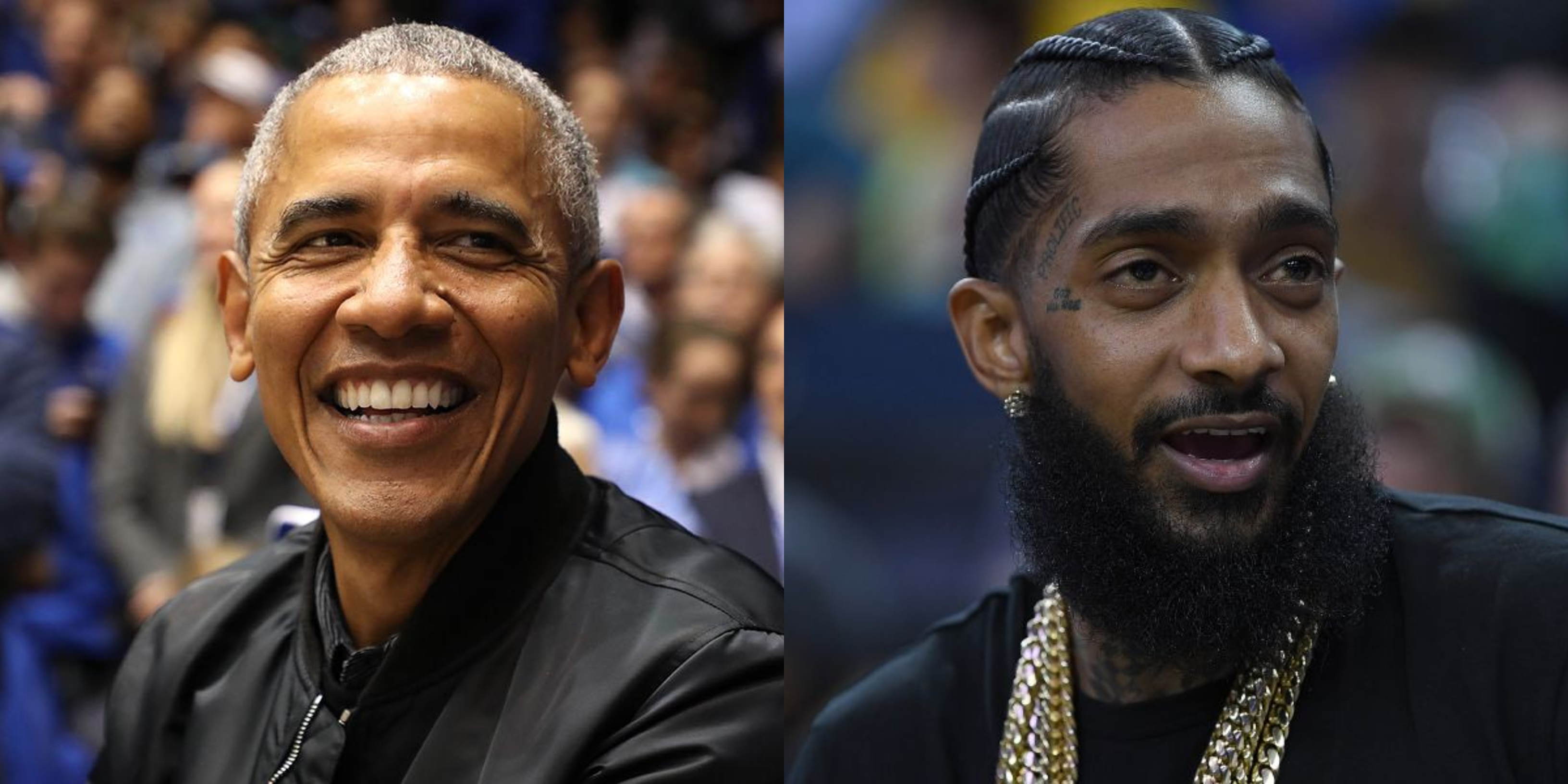 Karen Civil Reads Letter From Barack Obama at Nipsey Hussle's Memorial