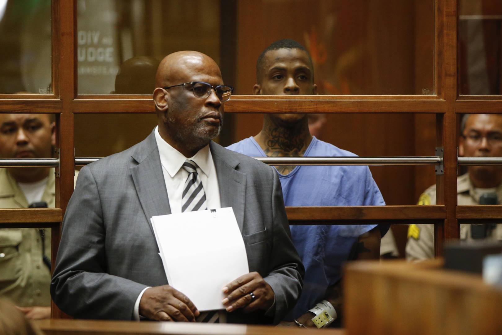 O.J. Simpson's Prosecutor is Defending Alleged Nipsey Hussle Murderer
