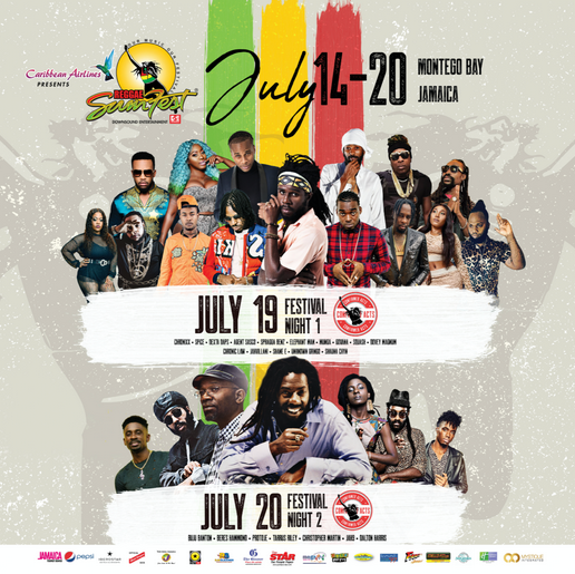 Beenie Man, Bounty Killer to Share Stage a 2019 Reggae Sumfest