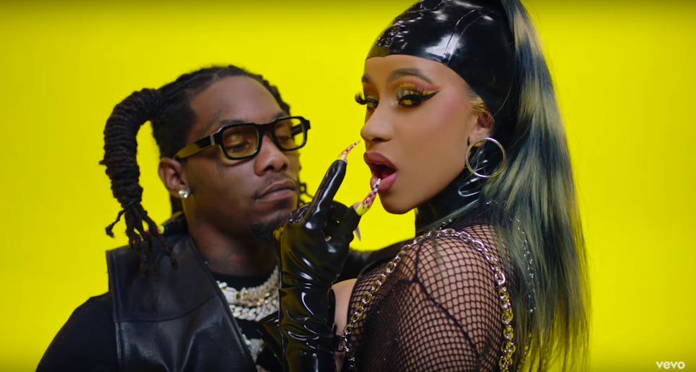 Offset and Cardi B Channel Busta Rhymes and Janet Jackson's 'What's It Gonna Be?' in 'Clout' Music Video