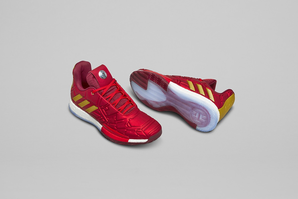 """quality design e47c4 36769 Shop the Marvel x adidas Basketball """"Heroes Among Us"""" collection when it  drops on April 26, right alongside the theatrical release of Avengers   Endgame."""