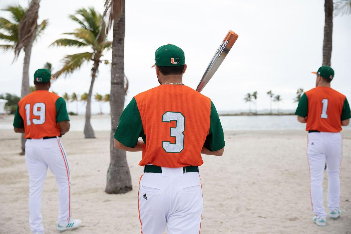 Adidas X University Of Miami Parley Baseball Jerseys The Source
