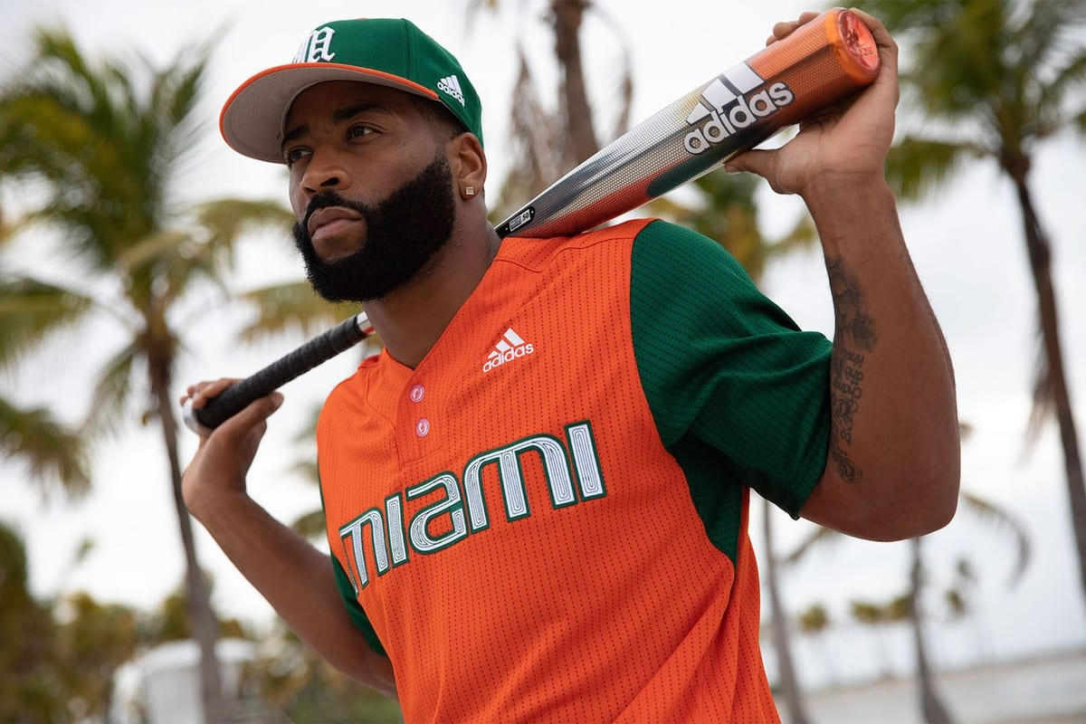adidas university of miami parley baseball jerseys