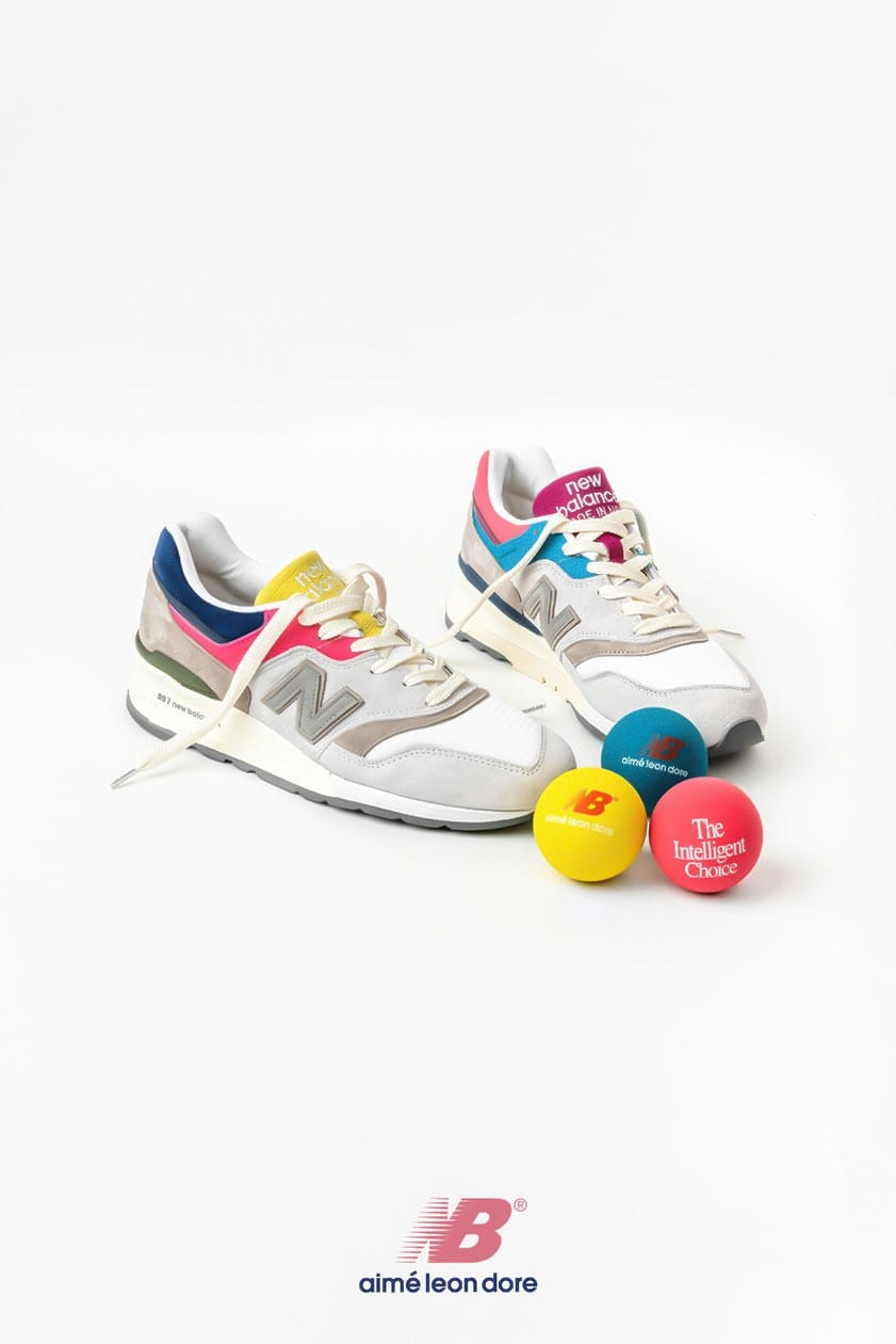 aime leon dore new balance  preview