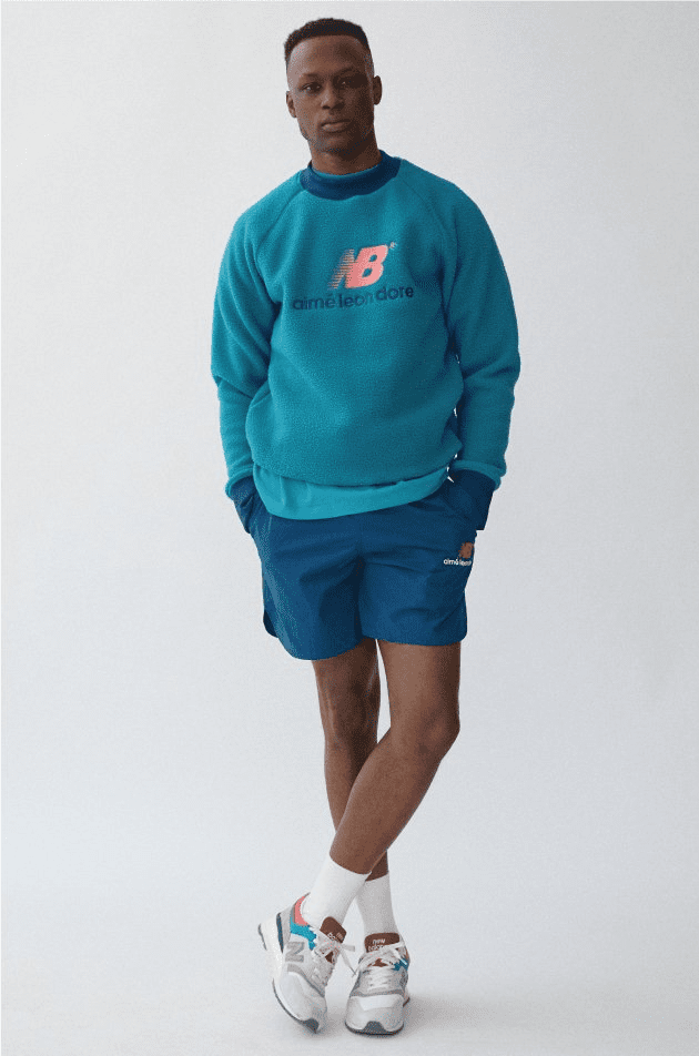 aime leon dore new balance collaboration lookbook