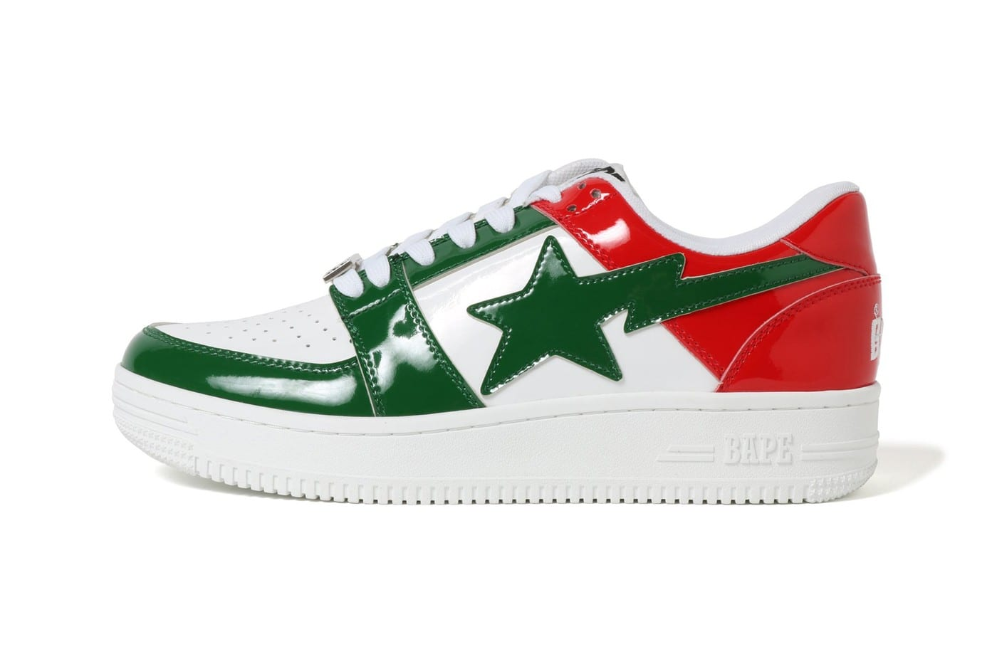 1155c4164681 Get the new SS19 BAPESTA colorways starting this Saturday (April 6) at  official A Bathing Ape retailers and online. More pics below