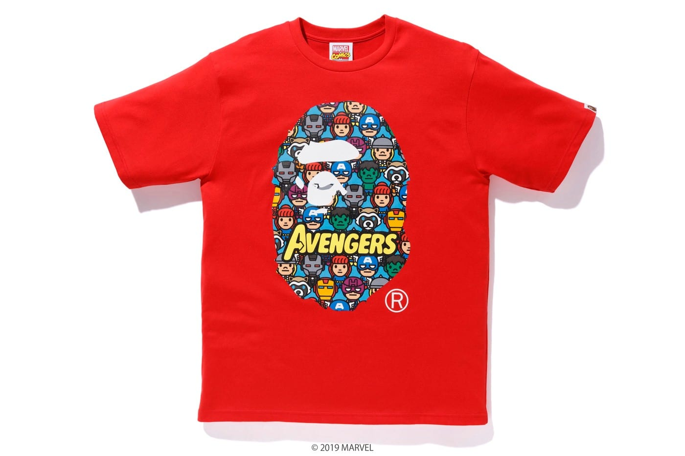 bape marvel comics ss collection
