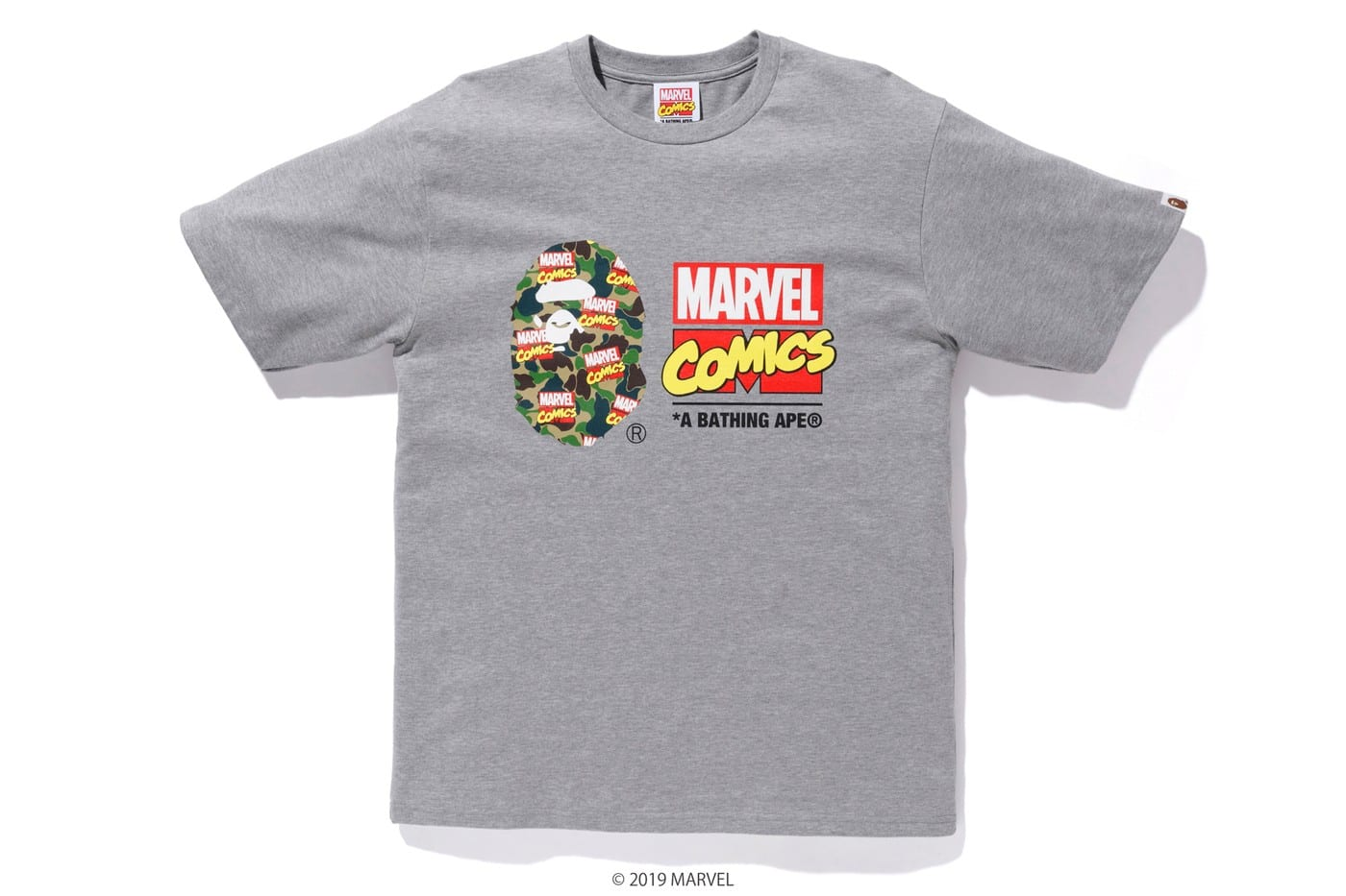 9403dd656 ... the BAPE x Marvel Comics SS19 Collection drops this Saturday (April 27)  at A Bathing Ape retail locations and online. Get a closer look at the  entire ...