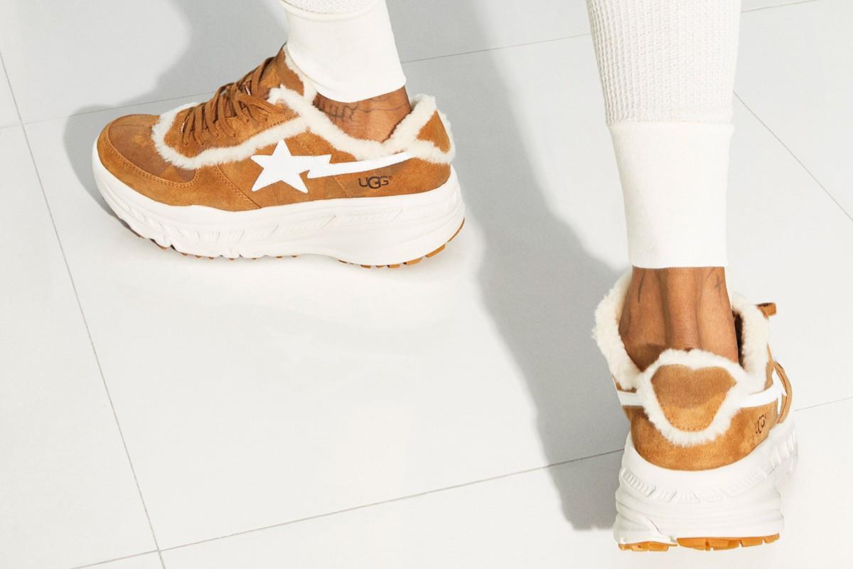3fc8da0fd72 Sneakers & Slides From Lil Wayne's BAPE x UGG Campaign Drop Soon