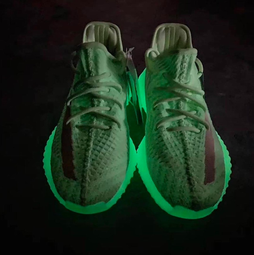 "new styles 35591 a4711 Look out for the adidas YEEZY BOOST 350 v2 ""Glow-in-the-Dark"" to arrive this  summer, and we ll keep you updated on official details as they come."