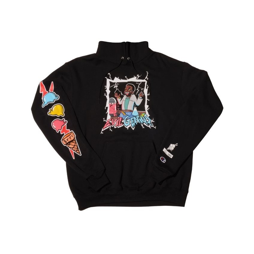 "66ed2f8ae78 Gucci Mane Taps Into His ""Evil Genius"" For Collab Hoodie With Warner Music  Artist Services"