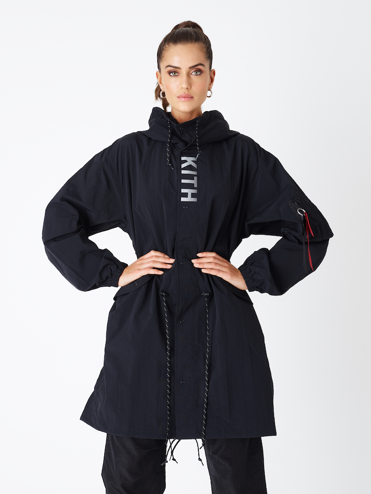 kith women alpha industries positive energy collection