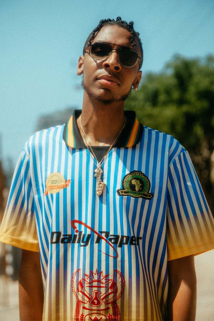 masego daily paper vintage inspired football kit