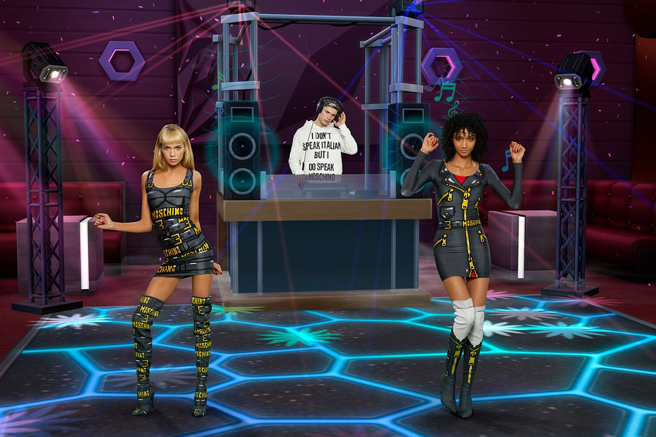 moschino the sims ss capsule collection