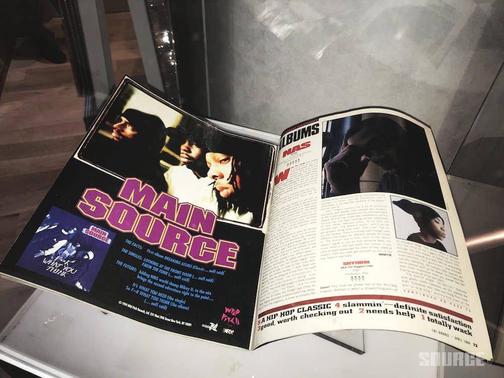 Nas Debuts 'Illmatic XXV: Memory Lane' Pop-Up For LP's 25th Anniversary