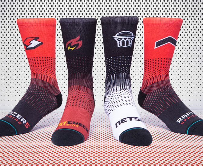 nba k league stance socks