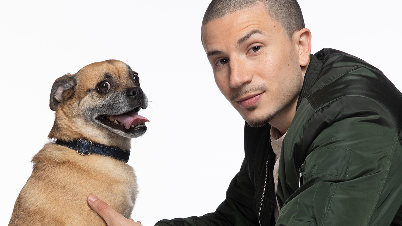 netflix orders its bruno starring solvan slick naim rescue dog