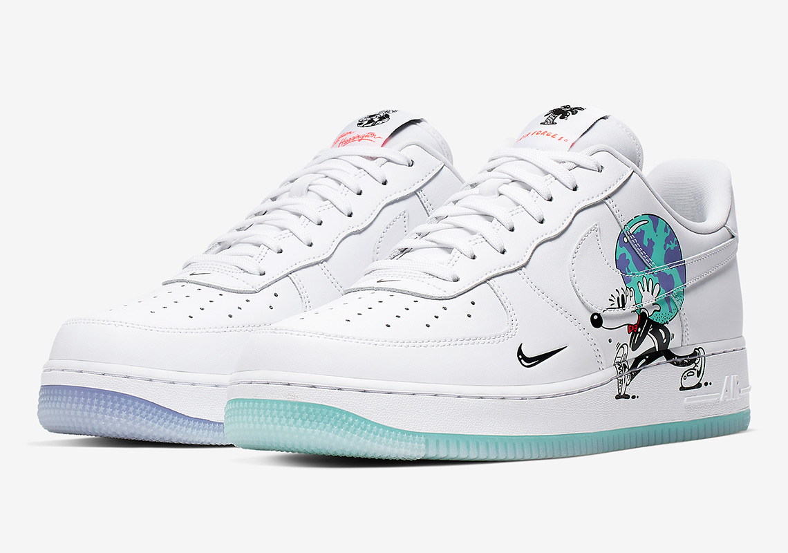 hot sale online aff76 e59b7 The Earth Day Collection features classic models from the vault, including  the Air Force 1, Blazer Low, and Cortez, constructed from the Swoosh s  signature ...