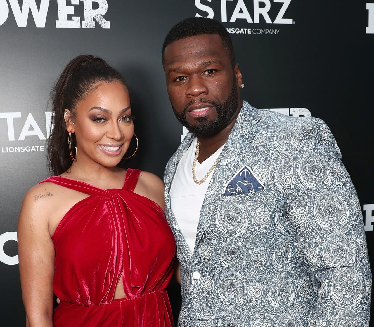 50 Cent Joins Forces With La La Anthony for New Starz Series