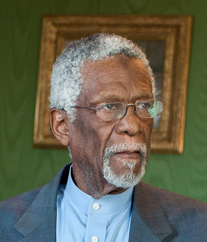 Bill Russell in the Green Room