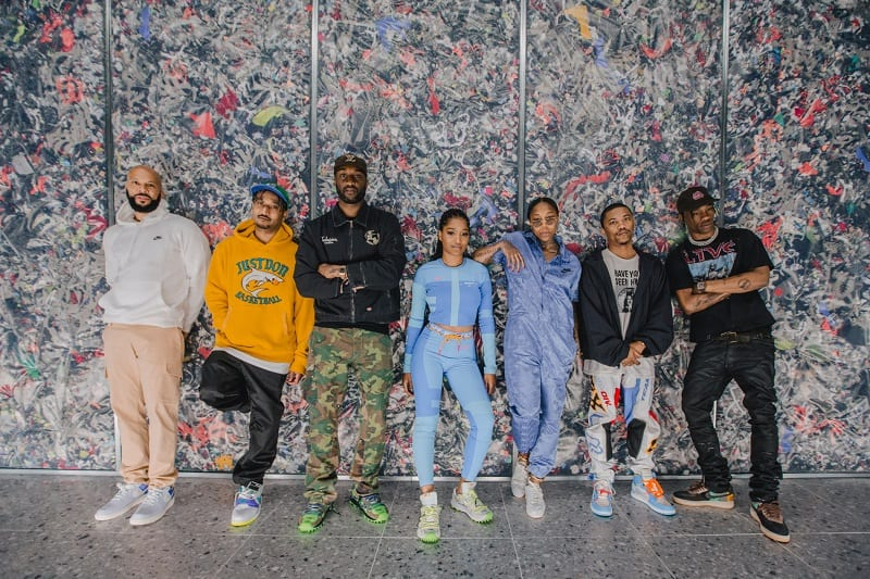 6916f859 Virgil Abloh Opens NikeLab Chicago Re-Creation Center with Common, Travis  Scott and More