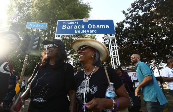Los Angeles Boulevard Gets Renamed After Barack Obama