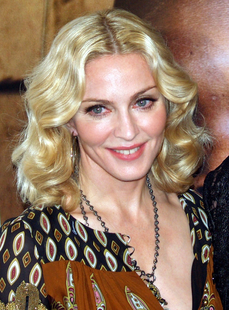 Madonna at the premiere of I Am Because We Are