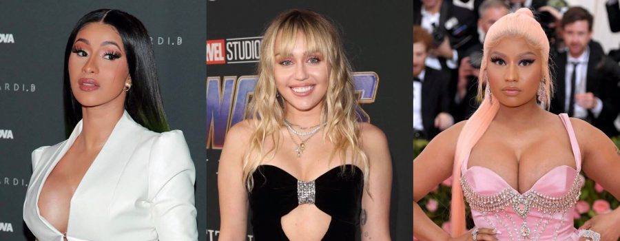 Miley Cyrus Mentions Cardi B and Nicki Minaj Beef in New Song: 'I Love You Nicki But I Listen to Cardi""