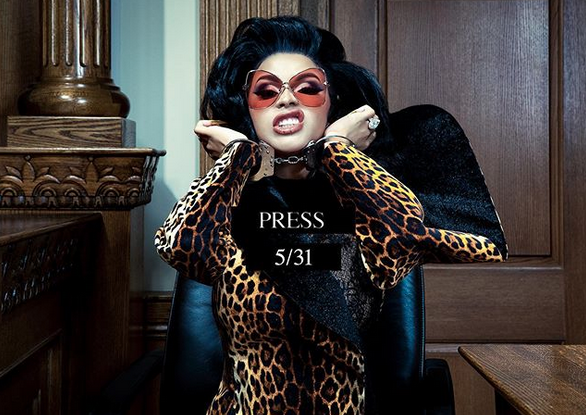 Cardi B Unveils 'Press' Artwork + Release Date