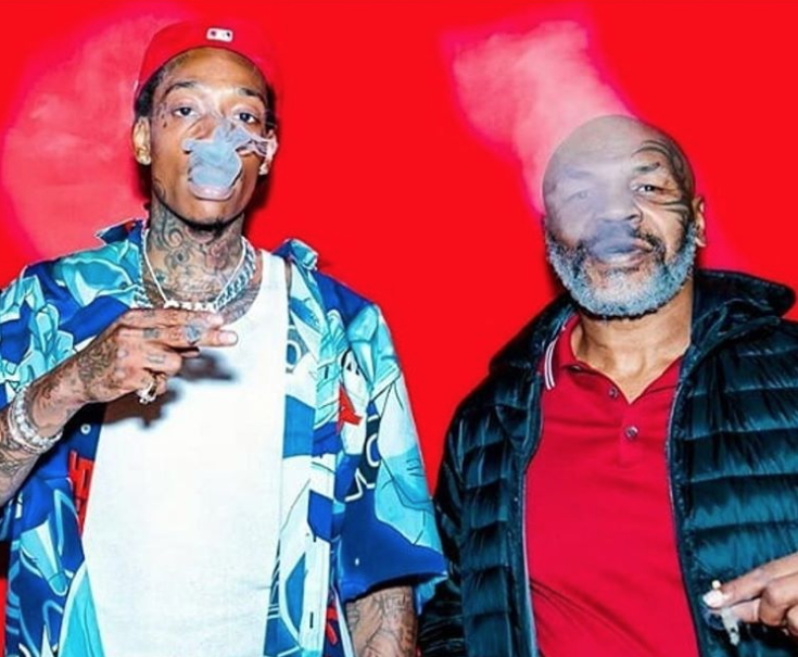 Wiz Khalifa Reveals he Smoked 'Pound for Pound' With Mike Tyson