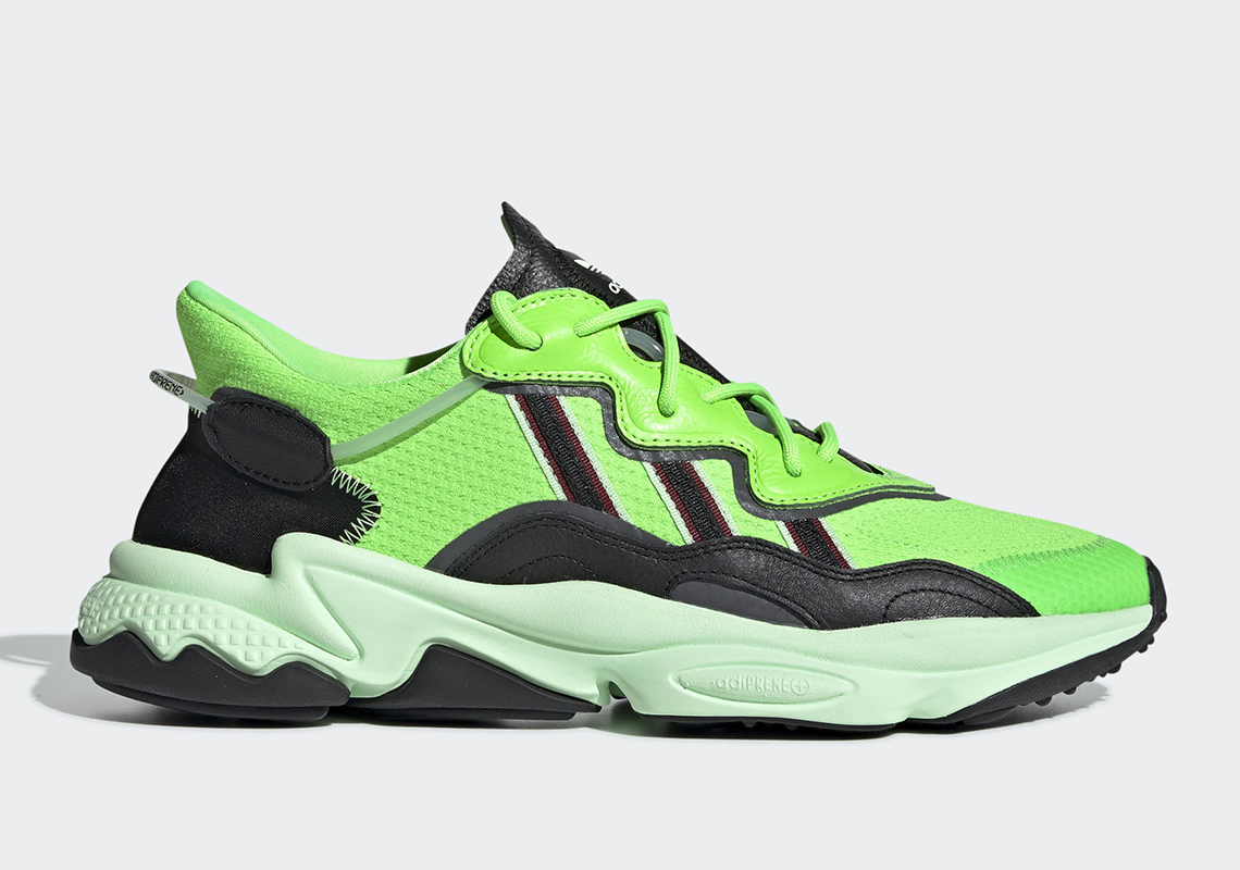 adidas ozweego neon green ee