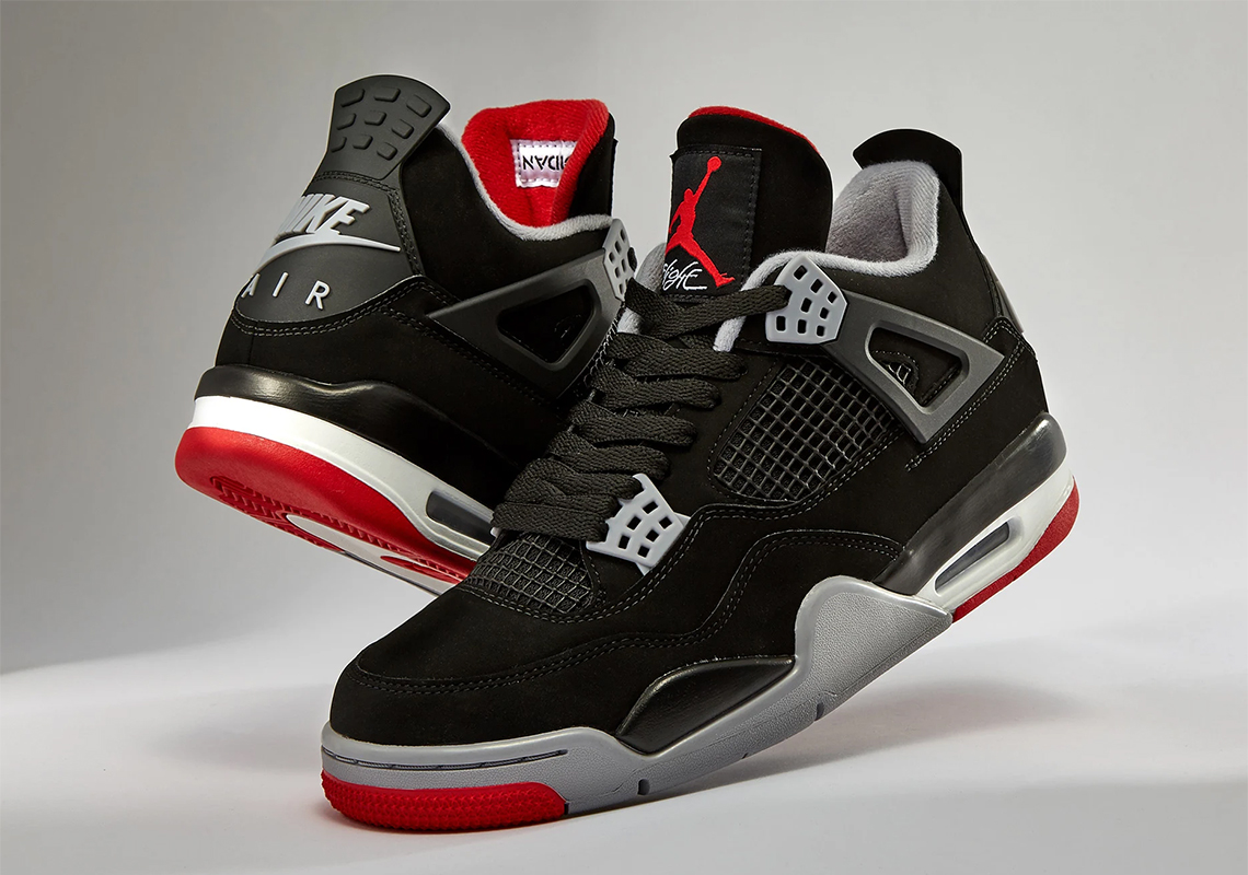 "614a19058ad Reminder: The Air Jordan 4 ""Bred"" Drops This Weekend"