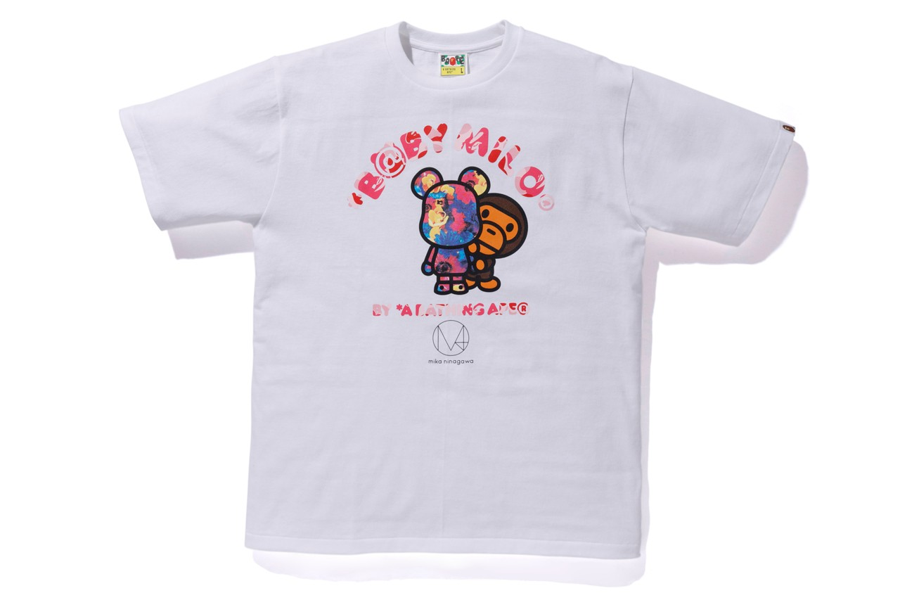b8a99c71 ... mika ninagawa Capsule Collection arrives at A Bathing Ape's Japan  locations, online store, the Medicom Toy Store and its webstore beginning  Saturday ...