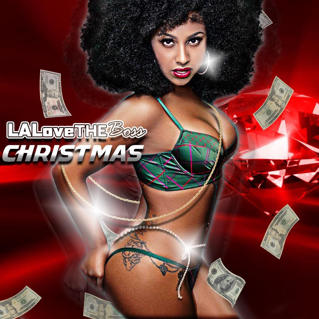 The Source La Love The Boss Releases Sexy Confident Visual Christmas Lalovetheboss been trappin extra hard lately. la love the boss releases sexy