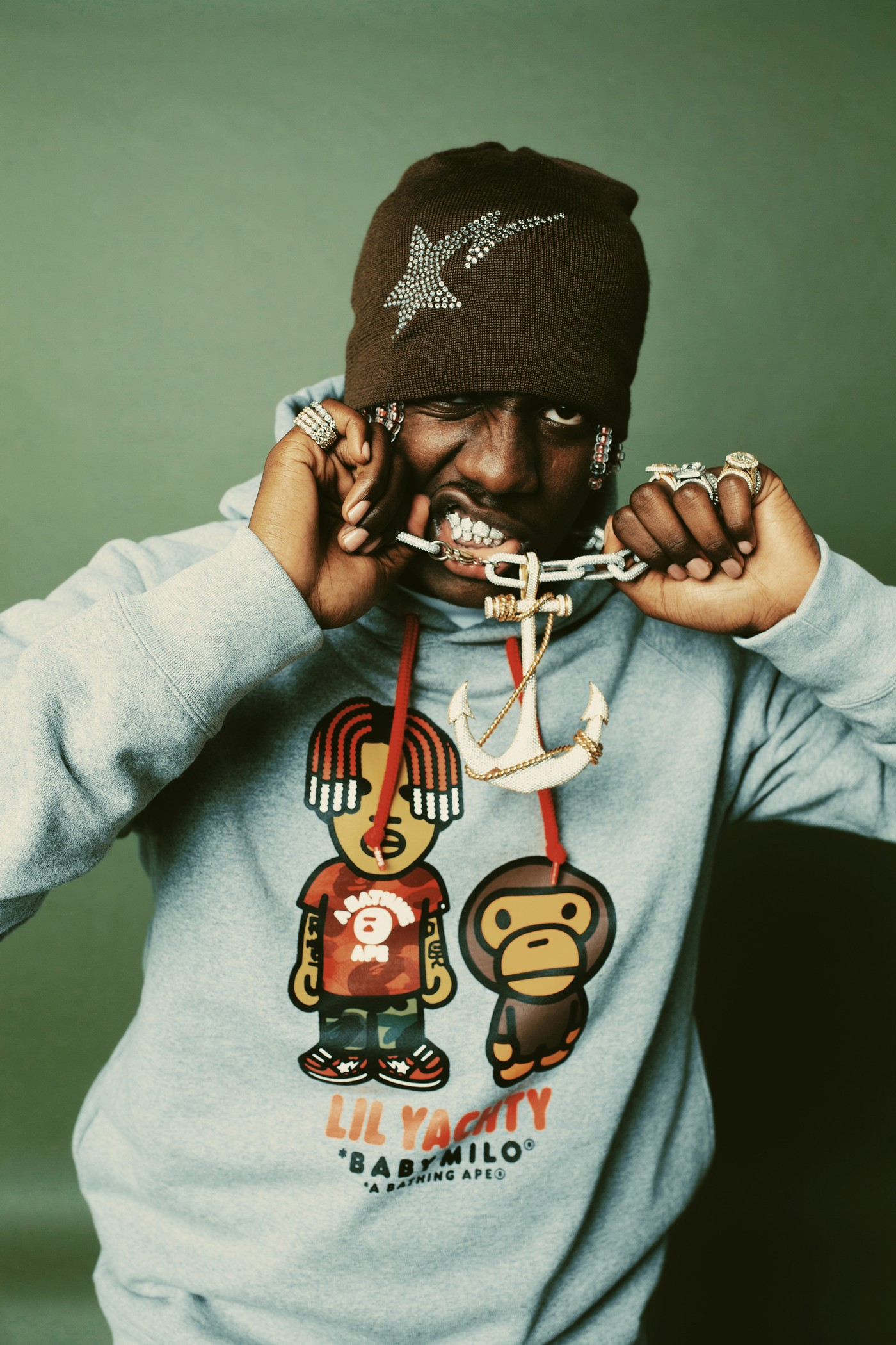 lil yachty bape capsule collection
