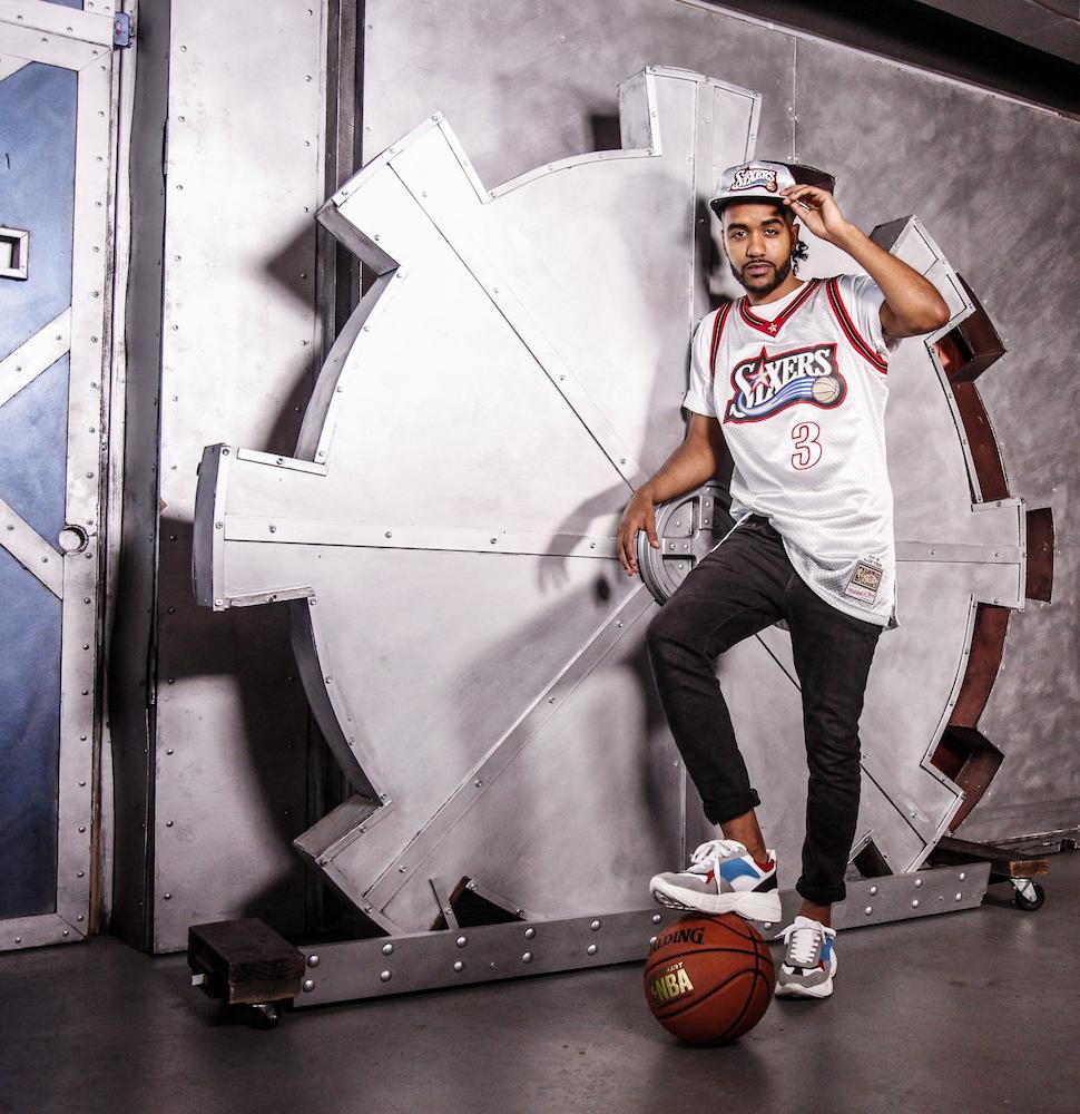 "fb8f921ea5839 Mitchell & Ness Debuts Its NBA Fashion ""Platinum Pack"""