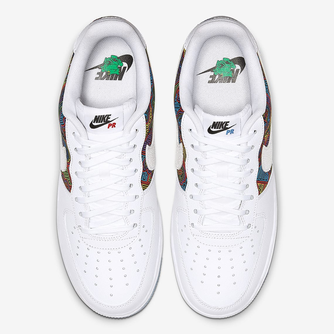 best cheap eaba6 d312d ... down on June 9, expect this PR-inspired Nike Air Force 1 to drop around  that time and retail for  100 USD on Nike.com. See it in better detail  below