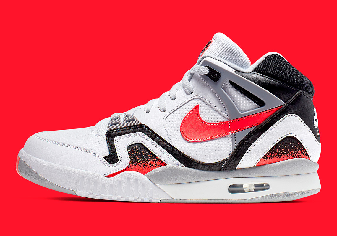 """the best attitude 0a5fe df526 Nike Is Bringing Back the Air Tech Challenge II """"Hot Lava"""" This Week"""